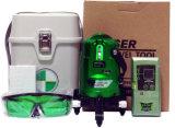 Herramienta de mano Hardware Encuesta Instrumentos Danpon tres haces de herramientas de nivel láser verde