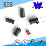 Inductor de la inductancia de la energía de Wirewound de la base del tambor de Lgb con RoHS para la PCB