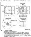 Circuito integrado do CI do microcontrolador Msp430f4250irgzt dos sinais ambíguos