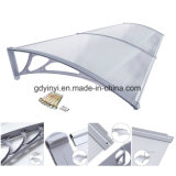 100X120cm Outdoor DIY Polycarbonate Plastic Awning (yy1000-c)