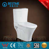 Wc Ceramic Siphonic Two-Piece WC Cupc avec Soft Colosing Seat Cover (BC-1017A)