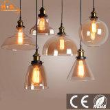 Lampada Pendant romantica di vetro 5 W 90-260V LED del ristorante