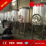20-2000 tanque cónico do fermentador da cerveja do revestimento do glicol do aço inoxidável do galão
