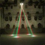 El disco enciende luces calientes principales móviles de DJ de la viga china de 4PCS 10W LED