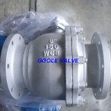 L'acier Inoxydable 2PC A Bridé le Robinet à Tournant Sphérique de Flottement (Q41F)