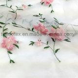 Вышитая поли Silk шифоновая ткань для повелительницы Одежды Ткани