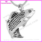 De Juwelen van de Halsband van de Urn van de As van de Halsband van de Tegenhanger van het Roestvrij staal van vissen