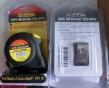 Haute qualité 5m Auto Lock Acier ruban à mesurer avec la lame double marquée