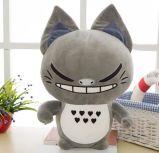 Juguete relleno felpa del carácter de Totoro de la historieta