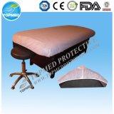 Nichtgewebtes Bett-Wegwerfdeckblatt mit Gummiband für Krankenhaus