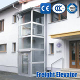 Elevador Home Sightseeing da casa de campo do hospital do frete do passageiro ISO9001 sem quarto da máquina