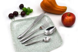 LFGBの証明の18/0年のマットの終わりのステンレス鋼の食事用器具類の西部の食事用器具類