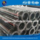 Трубопровод HDPE большого диаметра пластичный для минирование