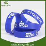 Цветастый дешевый изготовленный на заказ Wristband деятельности при браслета кремния печатание