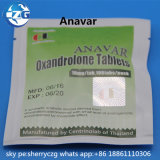 La poudre de stéroïdes de pillules d'Oxan marque sur tablette Anavar pour le culturisme