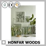 Einfachheits-Art-Vierecks-hölzerner Abbildung-Foto-Rahmen für Tischplattendekoration
