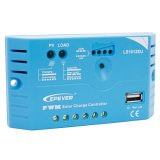Epever 10A PWM 태양 책임 관제사 12V 규칙을 비용을 부과하는 12A USB 후원