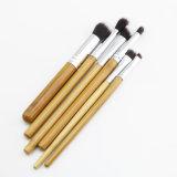 natürliches Bambusaugen-Schönheits-Verfassungs-Pinsel-Set des griff-6PCS