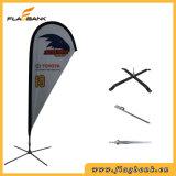 Tradeshow-Aluminiumdigital-Druckenteardrop-Markierungsfahne/Fliegen-Markierungsfahne