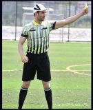 Sneldrogende Voetbal Jersey de Amerikaanse Voetbal Jersey van de Voetbal van Jersey van het Kostuum van de Scheidsrechter Nieuwe Model