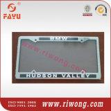 Soporte de placas de matrícula con colores de tiras grabados variados