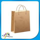Bolsa de papel de Kraft con la maneta Twisted para la ropa
