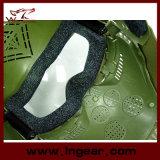 목을%s 가진 전술상 굵은 활자 Airsoft 보호 안경 렌즈 가면은 가면 군을 보호한다