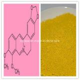 Berberineの塩化物98% Berberineの塩酸塩CASのNO 633-65-8