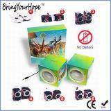 Altofalantes de papel Foldable recicl Eco-Friendly da impressão feita sob encomenda do OEM mini (XH-PS-023)
