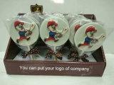 ケーキのための漫画のチョコレート・キャンディの装飾
