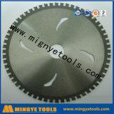 Le CTT circulaire scie la lame pour couper ferreux en métal