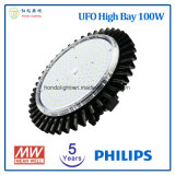 Philips LED 칩을%s 가진 높은 만 5 년 보장 UFO 100W