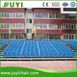 Jy-716 휴대용 플라스틱 Bleachers 경기장을%s 옥외 금속 Bleacher