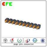 Puces de contact électriques à ressort à 10 broches personnalisées