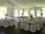 Grande tenda di alluminio di cerimonia nuziale del partito di eventi di Glamping della parte superiore del tetto