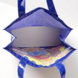 Paddington draagt Nylon Handtas van pvc van het Patroon de Blauwe (A072)