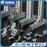 Anodizado Plata 8 Agujeros Perfil Industrial de Aluminio