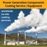 Wc Recubrimiento HVOF equipo de pulverización plantas de estación geotérmica Generación componentes del revestimiento de la máquina / Turbina Servicios impulsores válvula de la bomba de alimentación Rotores diafragmas