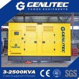 генератор 250 kVA молчком тепловозный с альтернатором марафона двигателя Mtu