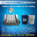 Moulage de silicones de RTV préparant les silicones corrigés par platine