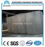 Precio material de acrílico del proyecto de la pared de la ventana de los acuarios