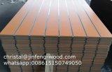ISO9001: 2008 1220*2440mm 슬롯 멜라민 MDF