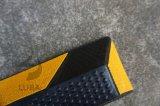 1650m m 65 '' cuñas ajustables de la rueda del estacionamiento de la rueda del tapón de la rueda de la pulgada 5foot con el sostenedor