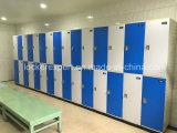 2 أبواب خزانة لأنّ منتجع مياه استشفائيّة خزانة مركزية بلاستيكيّة مسيكة