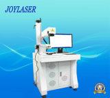 Máquina giratoria automática de la marca del laser para el casquillo de la lámpara