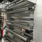 Tres impresora de velocidad mediana del rotograbado del color del motor 8 para la película