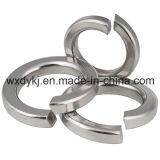 Usine de rondelle à ressort d'acier inoxydable DIN 127 de dispositif de fixation de vis d'acier inoxydable de la Chine