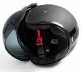 두 배 챙을%s 가진 좋은 품질 ECE에 의하여 승인되는 제트기 열려있는 마스크 기관자전차 헬멧
