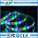 Luz de tira del color 12VDC SMD3528 4.8W RGB LED del LED RGB
