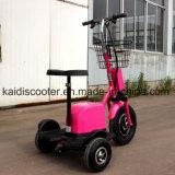 3車輪のZappy電気スクーターのショウガのセリウム